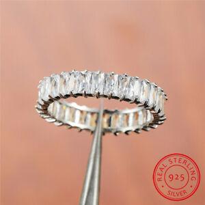 Elegant-925-Sterling-Silver-AAA-Zircon-Crystal-Eternity-Wedding-Engagement-Rings