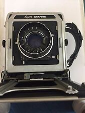Graflex Super Graphic 4 x 5 Camera w/ Optar 135mm f4.5 Lens   #248