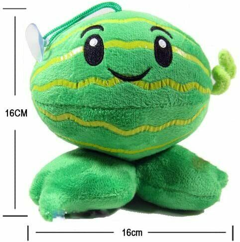 6 inch Melon-pult of Plants Vs Zombies Plush Doll Toy  Xmas Gift
