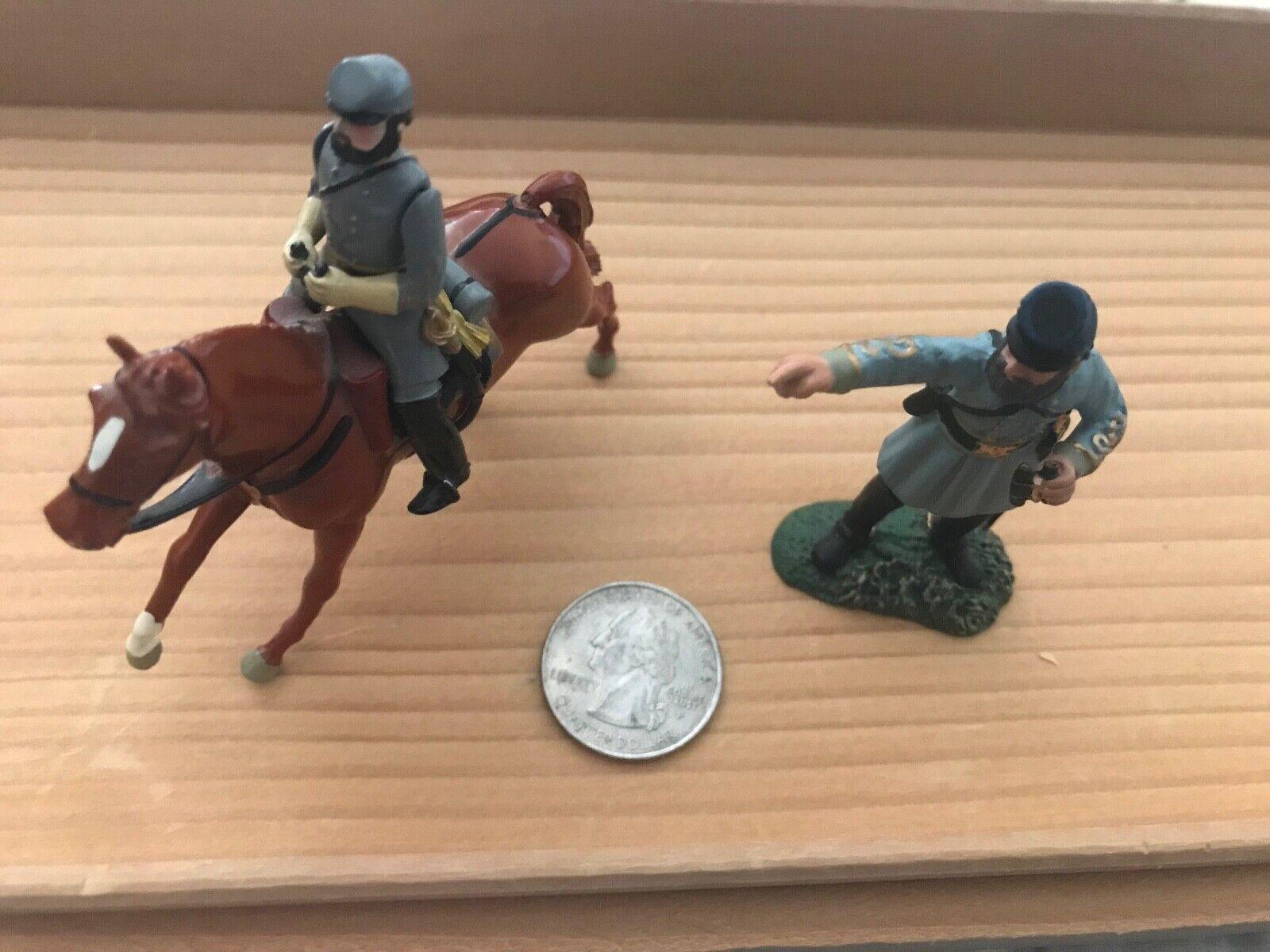 Stonewall Jackson Civil War Metal Figurines
