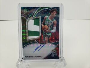 2019-20-Spectra-Romeo-Langford-Interstellar-Prizm-RPA-Auto-Autograph-Patch-RC-49