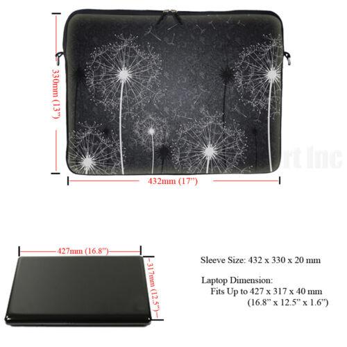"17/"" 17.3/"" Neoprene Laptop Notebook Computer Sleeve Bag Case 2900"