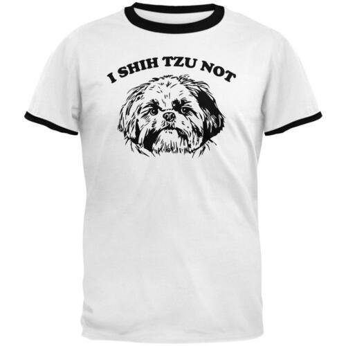 I Shih Tzu Not Mens Ringer T Shirt