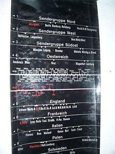 2-Skalen-Skala-fuer-Siemens-Radio-WL47-Langwellen-Station-Europa-Laenderband