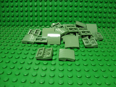 ** 25 CT LOT **  Lego NEW sand blue 2 x 2 slope pieces   Lot of 25