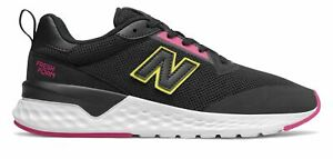 New Balance Women's Fresh Foam 515 Sport v2 Shoes Black with Red