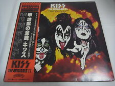 KISS-The Originals 2 ⅡJapan 1st.Press w/OBI 3LP Paul Stanley Gene Simmons