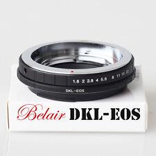 Belair Adapter for Voigtlander Retina DKL Lens to Canon EOS EF Camera DKL-EOS