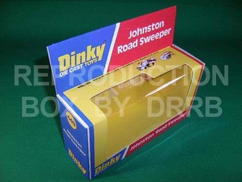 Dinky #449 Johnston Barredora De Carretera-Caja de reproducción por drrb