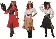 Carmenbluse off shoulder Bluse Spanierin Flamenco Cowgirl Damenkostüm