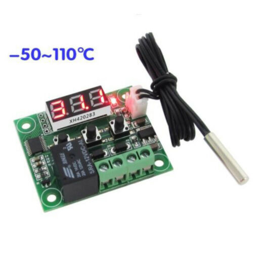 Sensor 50-110°C W1209 Digital thermostat Temperature Control Switch 12V 1pc