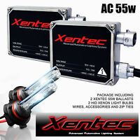 Xentec Hid Xenon 55w 2 Bulbs 2 Ballasts Kit Polaris Atv Headlight Rzr Ranger