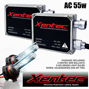 Xentec Bi-xenon Xenon Lights 35W 55W HID Conversion Kit H4 h13 9004 9007 Hi Low