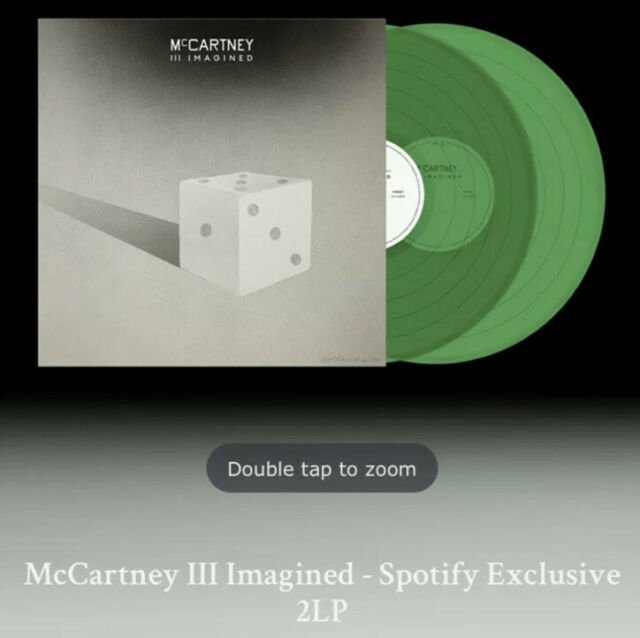 Paul McCartney III Imagined Limited Edition Exclusive Spotify 2LP Limited PO