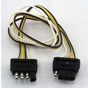 Details about Wesbar 707254 Flat 4 Wiring Harness Extension on