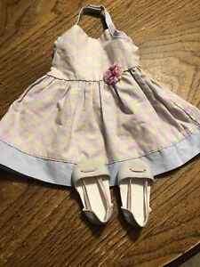 American-Girl-Chrissa-Sundress-amp-Sandals-EUC-RETIRED