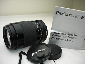 PROSPEC-70-210mm-F-4-5-6-lens-for-MINOLTA-MD-mount-cameras-SN2142329