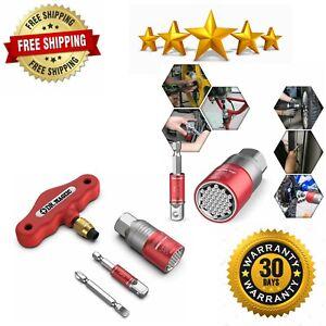 Multifunction-Universal-Socket-Tool-Set-Universal-Grip-9-21mm-Ratchet-Wrench