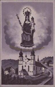 Mary-Image-Stone-Pilgrimage-Holy-Icon-Devotional-Picture-Austria-O-9940