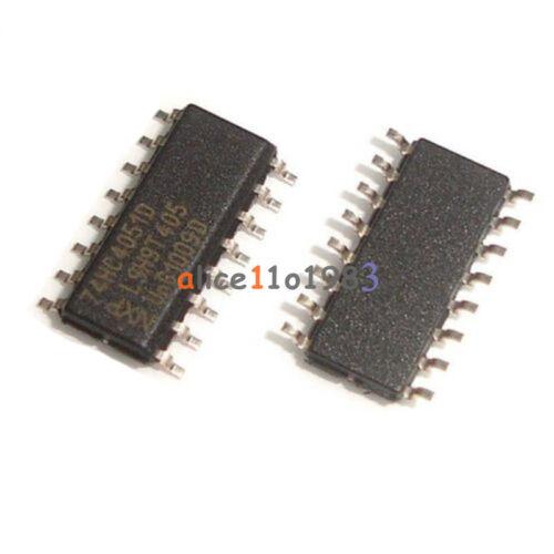 5PCS 74HC4051D SOP-16 74HC4051 SMD 8-channel Analog multiplexer//demultiplexer