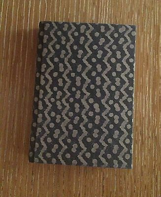 FORTUNY Notebook Tapa silver grey small plain paper  NWT