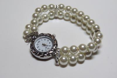 SchöN Cg3466...pearl Bracelet Watch - Round Dial - Free Uk P&p Farben Sind AuffäLlig