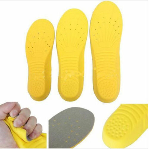 Unisex Super Memory Foam Orthotic Arch Insert Insoles Shoe Pads Cushion Sport