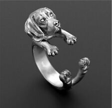 Beagle Dog Ring Puppy Lovers Adjustable Super Cute Fashion Jewelry ARR-39