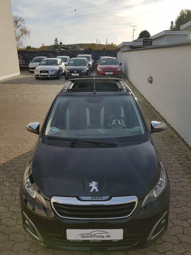 Peugeot 108 1,0 e-VTi 69 Desire TOP! 5d - 69.900 kr.