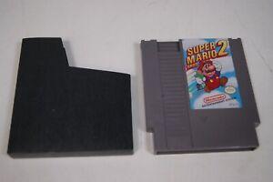 Nintendo NES Super Mario Bros. 2 Japan Video Game Cartridge Authentic Works
