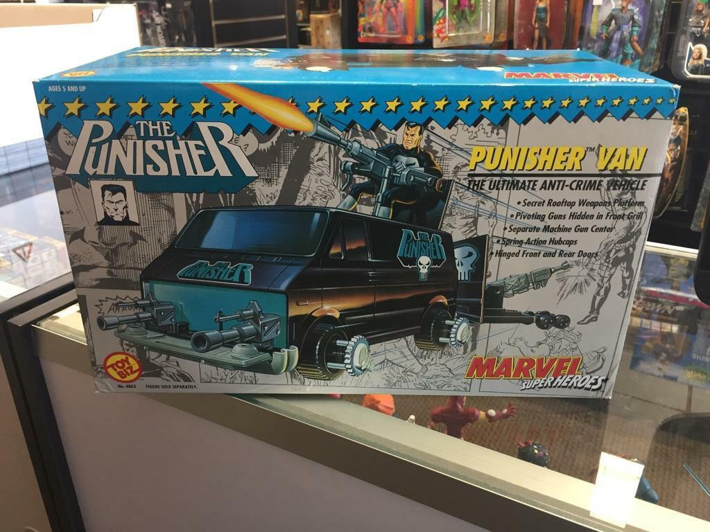 1991 Marvel Super Heroes The Punisher Van by Toy Biz