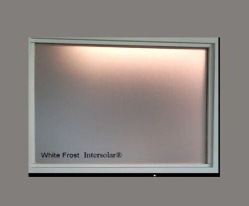 White Frost Privacy window film Made in usa   30 inch x 100 ft