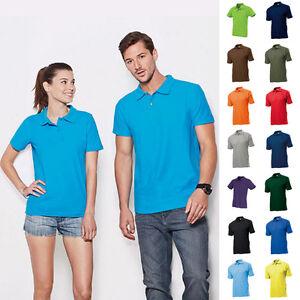 geschickte Herstellung abwechslungsreiche neueste Designs am besten bewertet neuesten Details zu 2 x Herren Mann Poloshirt Polo Polohemd Shirt Pique Stedman  Baumwolle 2er Set