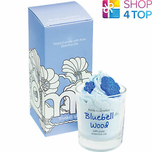 BLUEBELL-WOODS-PIPED-CANDLE-BOMB-COSMETICS-FLORAL-YLANG-YLANG-GERANIUM-NEW