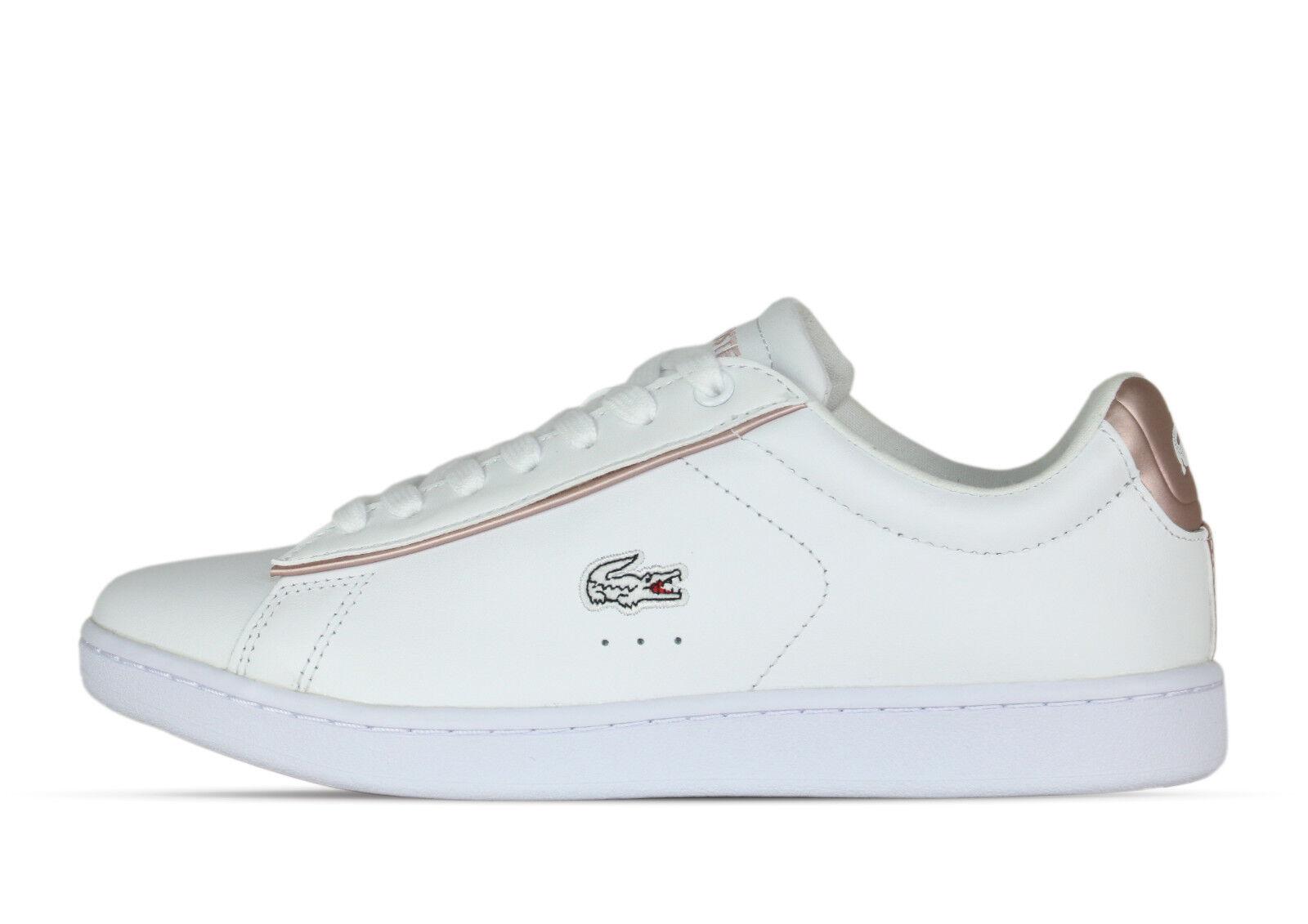 Lacoste Carnaby Evo 217 Weiß weiß 733SPW10241Y9 - Sneaker - weiß Weiß - Damens +Neu+ 7d6707