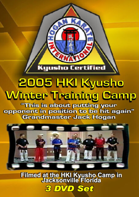 2005 Kyusho Extreme Self Defense Jack Hogan Karate International Seminar 3 DVDs
