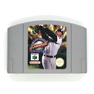 831d969d1b Image is loading Major-League-Baseball-Featuring-Ken-Griffey-Jr-N64-