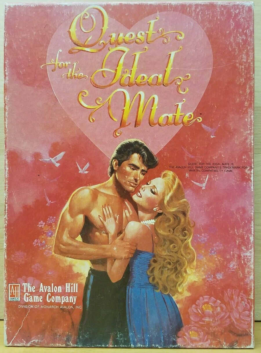 QUEST FOR THE IDEAL MATE - Avalon Hill Arcana 1987
