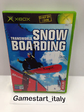 TRANSWORLD SNOW BOARDING (MICROSOFT XBOX) VIDEOGIOCO USATO COME DA FOTO - USED