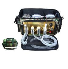New Listingportable Oilless Dental Unit Air Water Compressor Bag Suction System Syringe Fda