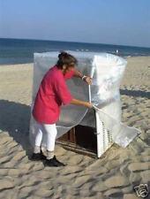 Strandkorbhaube Strandkorbschutzhülle  transparent