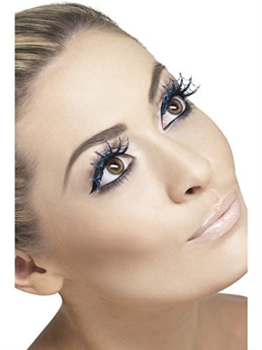 Eyelashes Spiderwebs With Glitter (US IMPORT) COST-ACC NEW