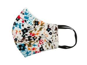 New-Relco-Mens-White-Multi-Print-Face-Covering