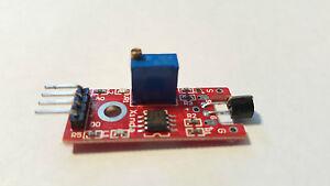 Microphone Sound Sensor 10mm Arduino Experimentation Module UK Free P&P