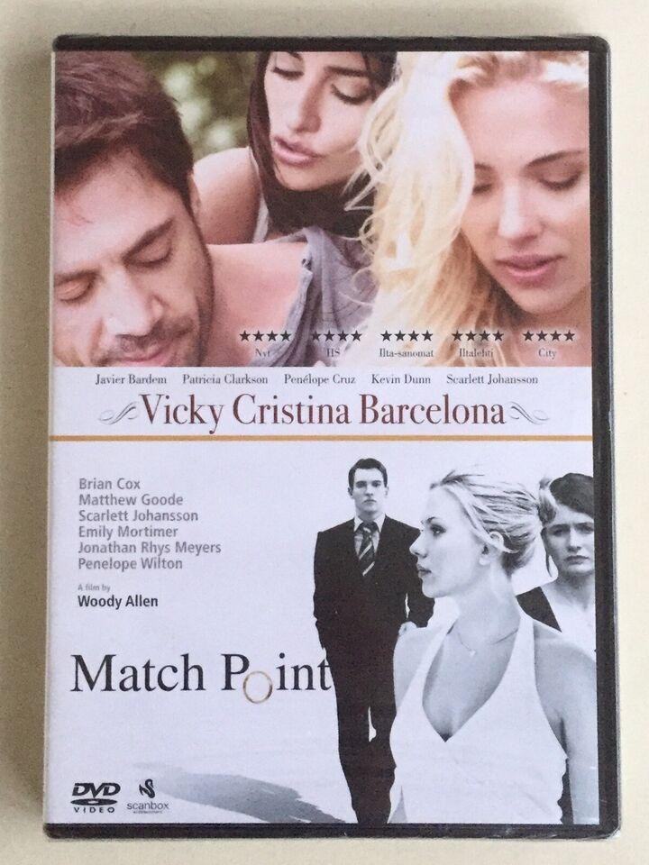 Vicky Christina Barcelona/Match Point (2-disc) –NY,