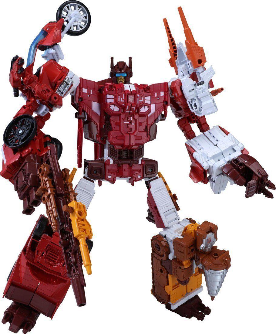 Takara Tomy Transformers unir guerreros UW08 Computron Figura De Acción