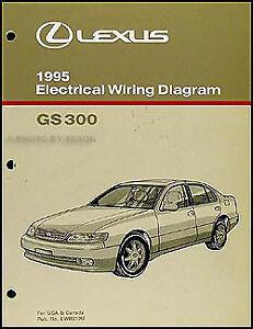 1995 Lexus GS 300 Electrical Wiring Diagram Manual 95 GS300 Original  Schematics | eBayeBay