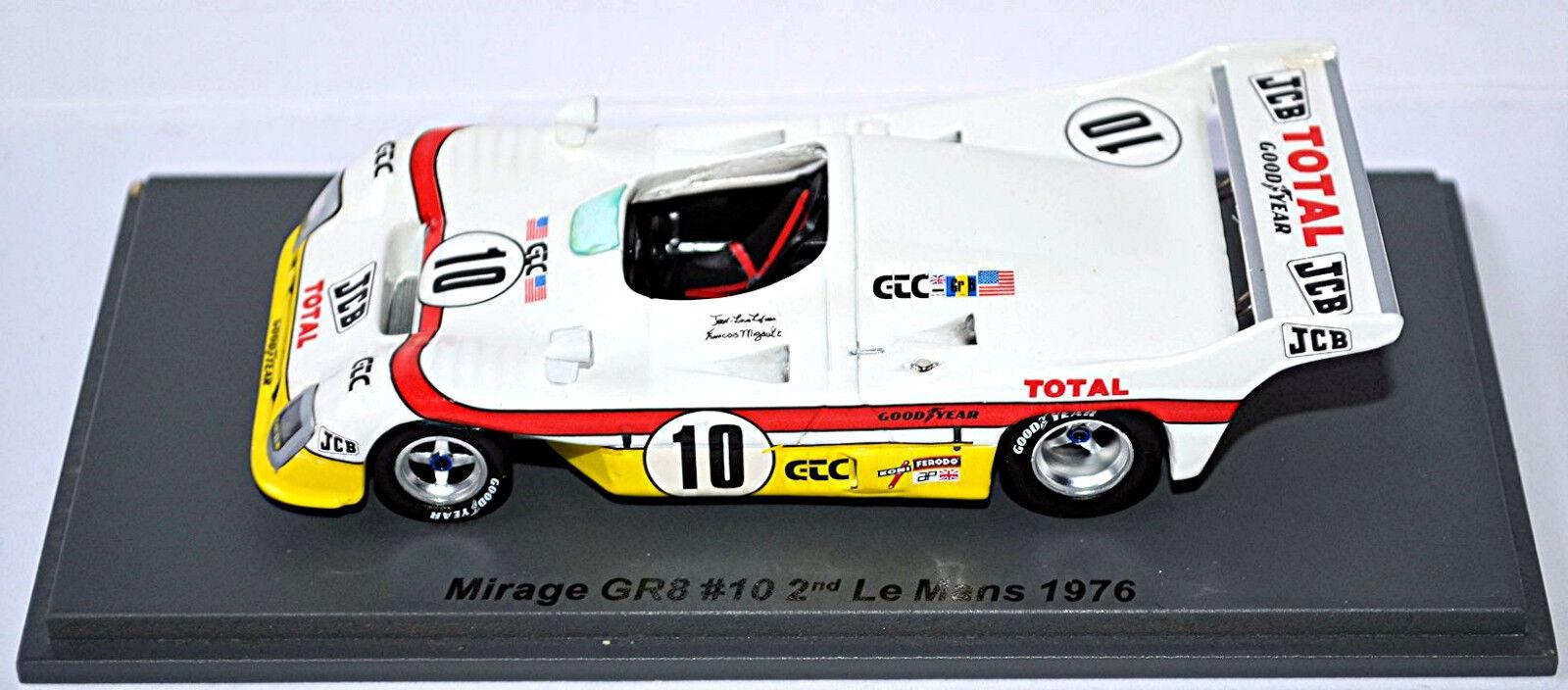 Mirage Gr8 - - - 2o Le Man S 1976  10 Lafosse Migault 1 43 Spark 03f46e