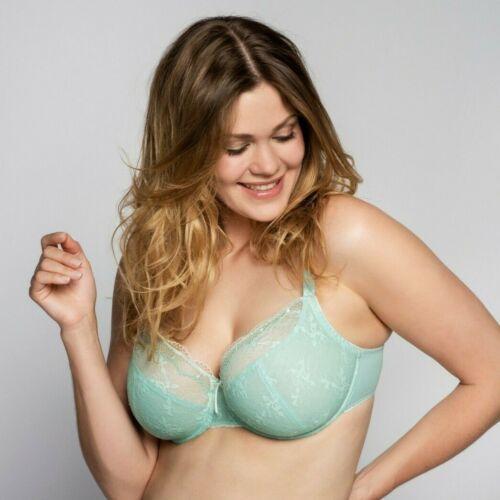 Ulla Dessous BH mit Bügel Sophia Caribbean Sea Mint Grün Cup D-I Sommer Spitze