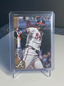 2020-Topps-Series-1-Ronald-Acuna-Jr-GOLD-150-0273-2020-SP-Great-Condition